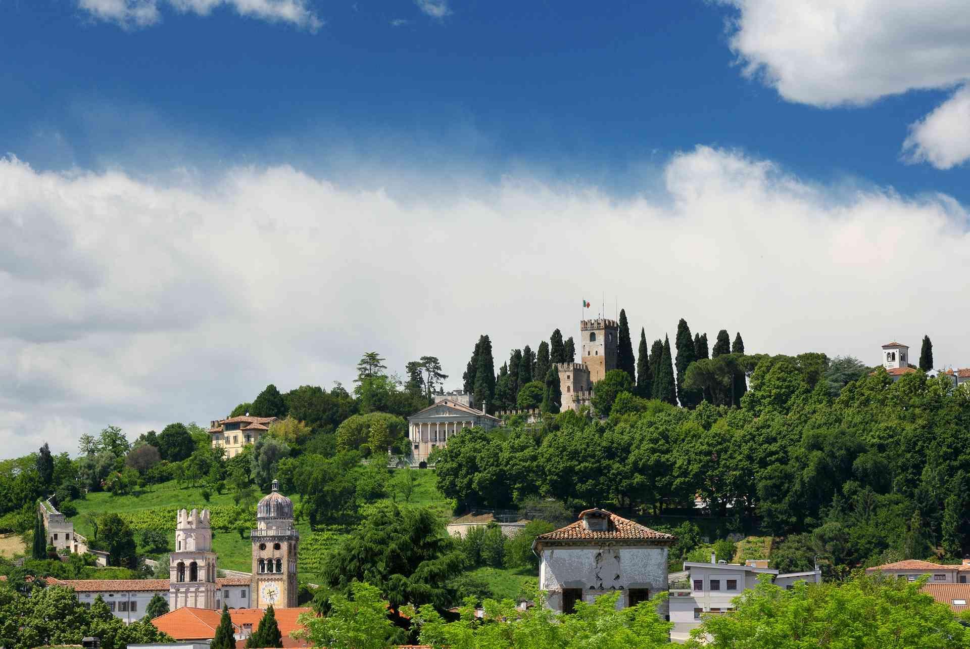 The castle of Conegliano Veneto - Colline del Prosecco UNESCO